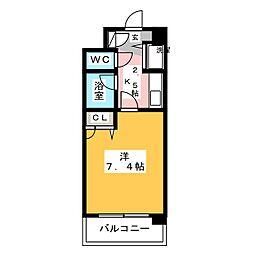 ライオンズプラザ博多駅南[5階]の間取り