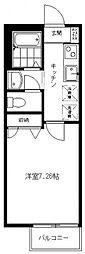 プリムローズA[103号室号室]の間取り