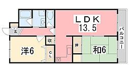メゾン・ドゥ・M[303号室]の間取り