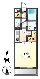 D−room岩塚[3階]の間取り
