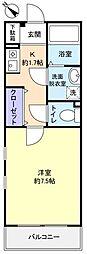 プリマベーラYoshiII[2階]の間取り