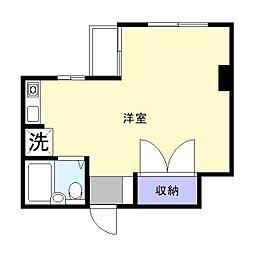 キャッスルプラザ木更津[8階]の間取り