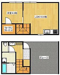 GARAGE HOUSE La Dice[A号室号室]の間取り