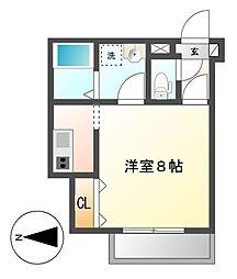 Cherim岩塚(シェリムイワツカ)[1階]の間取り