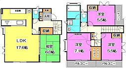 [一戸建] 東京都中野区上鷺宮4丁目 の賃貸【/】の間取り