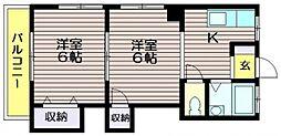 浩久マンション[201号室]の間取り