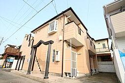 宮城県仙台市青葉区高松1丁目の賃貸アパートの外観