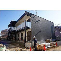 千葉県千葉市稲毛区天台2丁目の賃貸アパートの外観