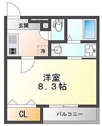 フジパレス江坂V番館[3階]の間取り