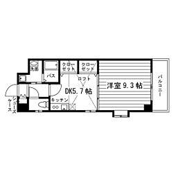 エスポアール春日井[3階]の間取り