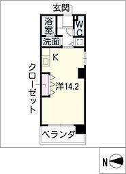 KDXレジデンス神宮前[2階]の間取り