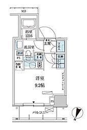 パークアクシス赤坂見附[3階]の間取り