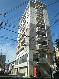 福岡県北九州市戸畑区浅生2の賃貸マンションの外観