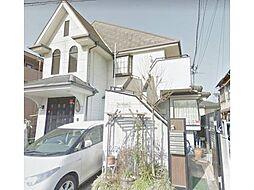 東京都国立市富士見台2丁目の賃貸アパートの外観