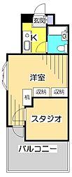 スペランザ・クニタチ[1階]の間取り