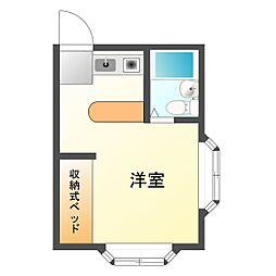 アビタシオン池田[2階]の間取り