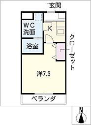 ACRO YASHIRODAI[4階]の間取り