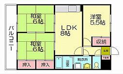 八尋タウンハウス1[1階]の間取り