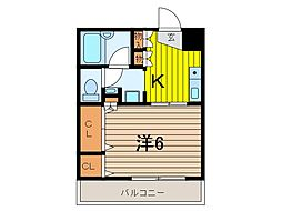 グリーンコート武蔵浦和[4階]の間取り