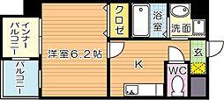 MDIエスポアール桜ヶ丘[2階]の間取り