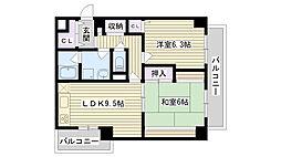 SスターII[2階]の間取り