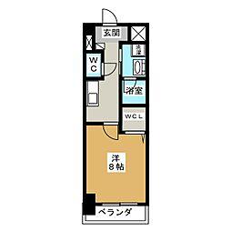 プライマリーステージ[7階]の間取り