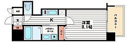 プレサンス堺筋本町駅前[5階]の間取り