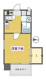 ファサード南栄[4階]の間取り