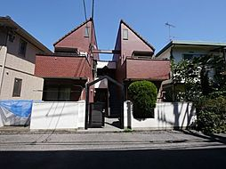 東京都小平市学園西町の賃貸アパートの外観
