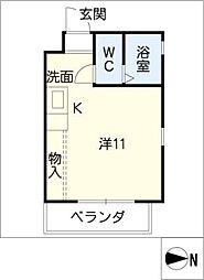 マンションLOT[3階]の間取り