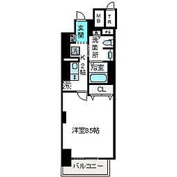 LIBRA TAKATSUKI[8階]の間取り