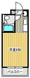 Dessert inn Tsujido[302号室]の間取り