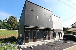愛媛県松山市和泉北3丁目の賃貸アパートの外観