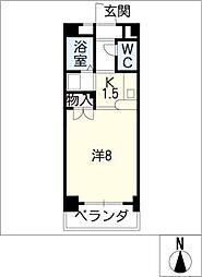 エクセル塩釜Ⅲ[1階]の間取り