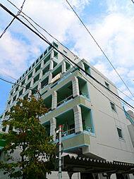 埼玉県蕨市中央1丁目の賃貸マンションの外観