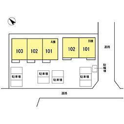 [テラスハウス] 静岡県沼津市緑ケ丘 の賃貸【/】の外観