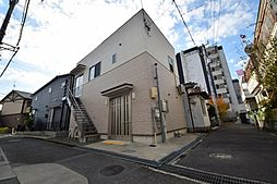川西小花店舗付き住宅[2階]の外観