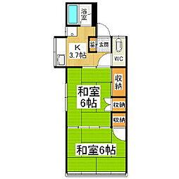 [一戸建] 長野県松本市元町 の賃貸【長野県 / 松本市】の間取り