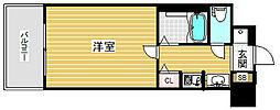 エステムコート神戸ハーバーランド前2[3階]の間取り