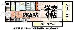 ギャラン吉野町[12階]の間取り