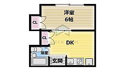 福寿マンション1号館[2階]の間取り