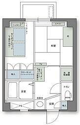 アルファコンフォート高松[710号室]の間取り