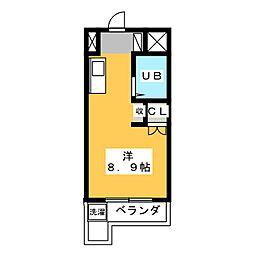 磐田グレイス第1マンション[1階]の間取り