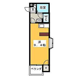 エクセラン高崎東[2階]の間取り
