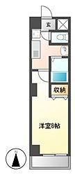 YMC葵(ワイエムシーアオイ)[2階]の間取り