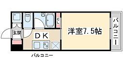 Osaka Metro御堂筋線 新大阪駅 徒歩18分の賃貸マンション 3階1DKの間取り