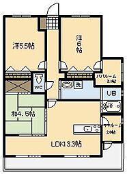 (新築)アルファスマート青葉北2[55号室]の間取り