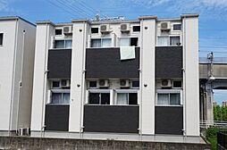 福岡県福岡市南区高木3丁目の賃貸アパートの外観