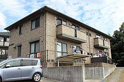 広島県広島市佐伯区五日市町大字皆賀の賃貸アパートの外観
