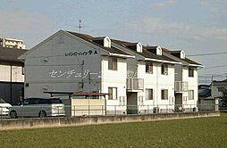 岡山県岡山市北区今5丁目の賃貸アパートの外観